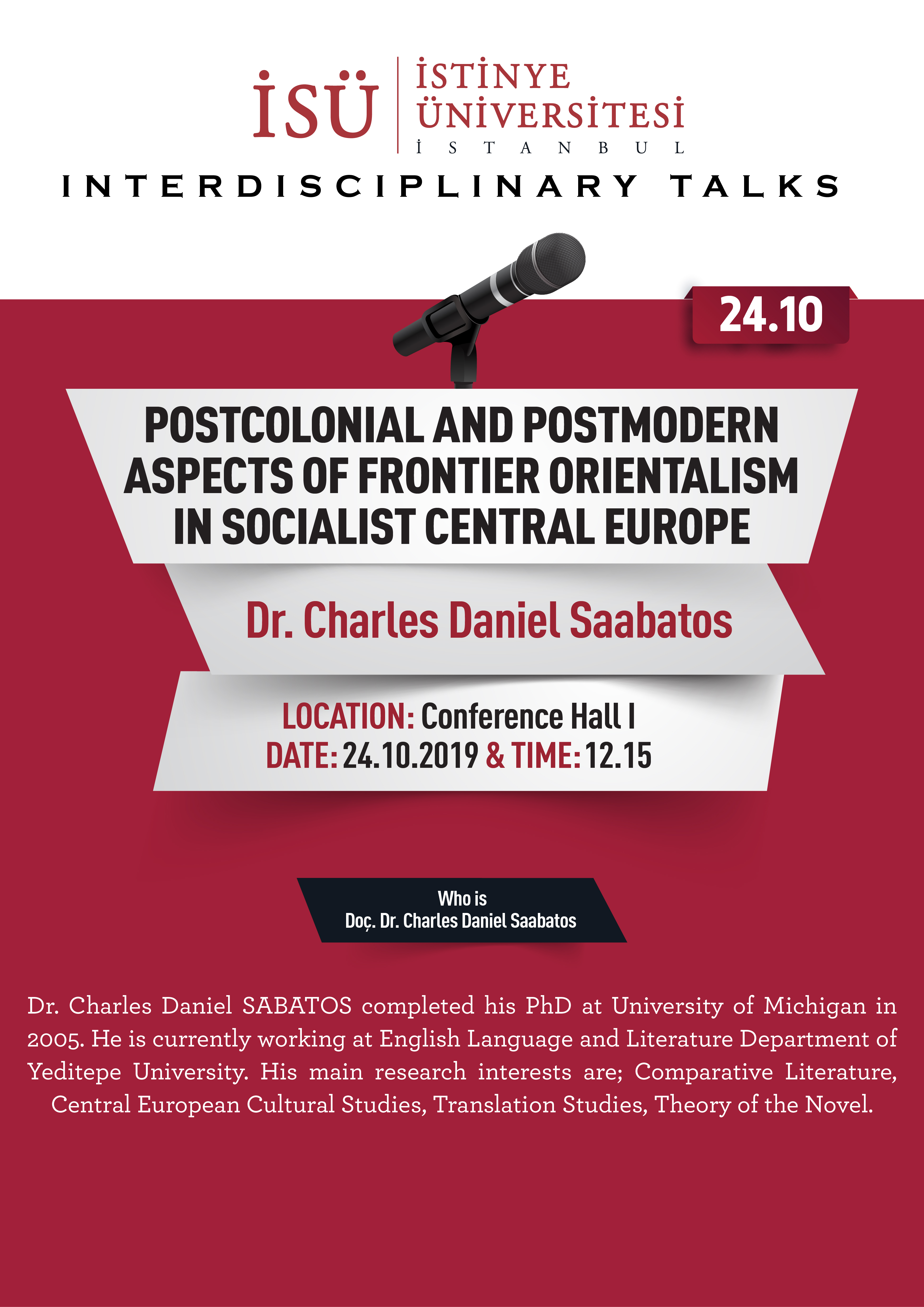 Interdisciplinary Talks / Postcolonial and Postmodern Aspects of Frontier Orientalism in (Post)Socialist Central Europe