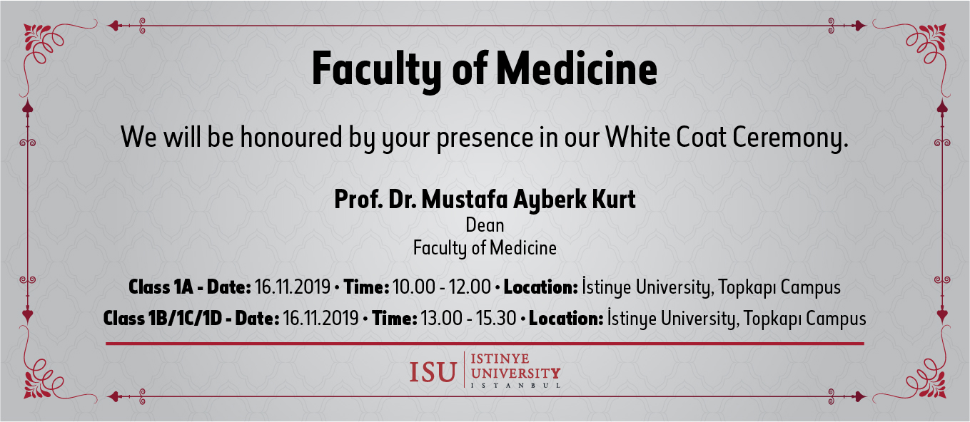 Faculty of Medicine White Coat Ceremony
