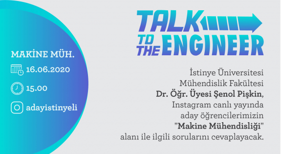 Talk To The Engineer